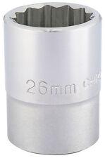 ORIGINAL DRAPER 1.9cm embout carré 12 points Douille (26mm) 16694