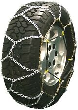 255/75-16 255/75R16 Diamond Back Tire Chains 5.5mm Link Bungee Adjuster Lt Truck