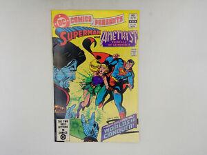 DC Comics Presents #63 DC Comics 1983 FN+ Superman & Amethyst
