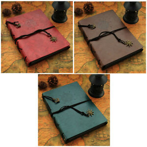 """Vintage PU Leather Art Design Photo Album Scrapbook For 60 Holds (6 """" Picture)"""
