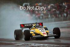 Patrick Tambay Renault RE50 French Grand Prix 1984 Photograph
