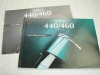 Volvo 440 460 Betriebsanleitung 1994 + Diesel D19T 204 Bedienungsanleitung