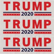 "Donald Trump Bumper Sticker 3x9"" 2020 President USA Make America Great money art"