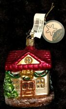 """Inge Glas Christmas Ornament/Decoration House""""Home Is Where The Heart Is""""NWT"""