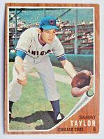 Sammy Taylor #274 Topps 1962 Baseball Card (Chicago Cubs) VG