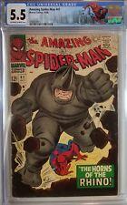 Amazing Spider-Man #41 CGC Key! 1st Rhino Appearance Custom Label
