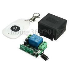DC 12v 10A Relay Wireless RF Remote Control Switch Transmitter + Receiver US