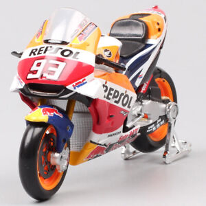 MOTOGP bike model Toy 1/18 2018 Honda Repsol RC213V #93 Marc Marquez motorcycle