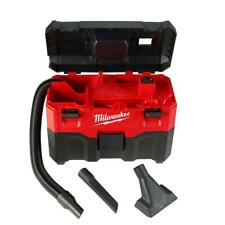 Milwaukee M18 Wet/Dry Vacuum 18V 2 Gal Lithium Ion Cordless 45 CFM Stackable Box