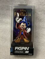 New Disney Fantasia Mickey Mouse FiGPiN #236 Fantasia Sorcerer Apprentice Pin