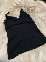 Red moon black Camisole Top sleepwear nightwear size M