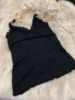 Red moon black Camisole Top sleepwear nightwear size M