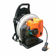 65CC 3.6HP 2 Stroke Backpack Gas Powered Leaf Blower Air-cooling Gasoline