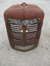 Farmall H Ih Tractor Nice Original Front Nose Cone Grill With Emblem