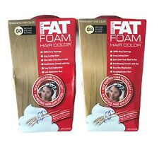 2 Samy Fat Foam Non-Drip Whipped Permanent Hair Color Medium Golden Blonde #G8