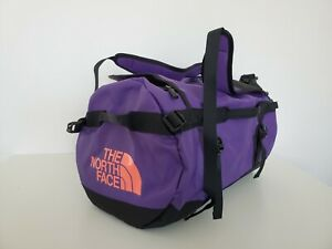 THE NORTH FACE BASE CAMP DUFFEL BAG BACKPACK SMALL 50L PURPLE/BLACK