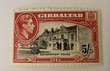 Gibraltar Sg 129a Perf 13.5 Lmm Cat £50