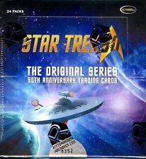 STAR TREK THE ORIGINAL SERIES 50TH ANNIVERSARY BOX BLOWOUT CARDS
