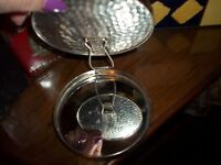 Vintage Double Mirror Compact Stand-up with Dual Make-up Treville West Germany