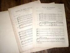 Gloire au Seigneur 4 voix mixtes et orgue du Messie et Israël en Egypte Haendel