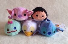 Lilo & Stitch Mini Tsum Tsum Plush Disney Store Set 5 Ugly Duckling Scrump Angel