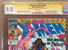 X-Men #282 CGC ss 9.8 Bishop Malcolm cameo x2 Portacio Lobdell 101 221 266 283 1