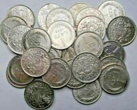 Latvia 1 Lats 1924 Old Good Silver coins! investment Lot! 29 Silver coins!