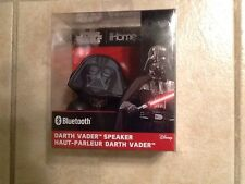 iHome Star Wars Darth Vader Bluetooth Speaker Rechargeable with USB Cable NEW