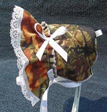 New Handmade Camouflage  Baby Sun Bonnet