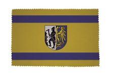 Glasreinigungstuch Brillenputztuch Fahne Flagge Beuthen Bytom