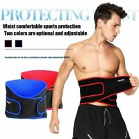Adjustable Neoprene Double Pull Lumbar Lower Back Support Belt Pain Relief Care