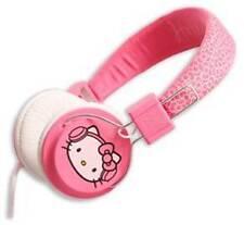 Hello Kitty Stereo Kopfhörer Headset pink/weiß Neu