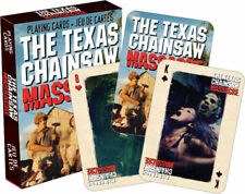 Playing Card - Texas Chainsaw Massacre - Cast Poker Card Game New Licensed 52274