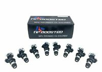 8 Fuel Injectors 4 Hole Upgrade for 1999-07 Chevy GMC Buick Cadillac 4.8 5.3 6.0