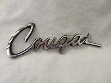 "Mercury ""Cougar"" Nameplate / Emblem"