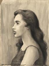 XAVIER J. BARILE, New York/Maine/Italy, 1891-1981, Portrait of Jean O... Lot 310