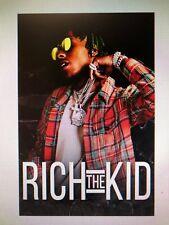 RICH THE KID 24X36 POSTER PLUG WALK HIP HOP RAP MUSIC GIFT NEW INTERSCOPE NYC!!!