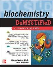 Biochemistry Demystified, Good Condition Book, Walker, Sharon, Mcmahon, David, I