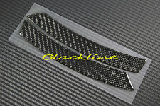 07~13 BMW E92 E93 3 Series Coupe Front Bumper Side Marker Carbon Decal Cover 335