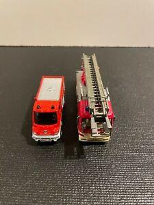 Herpa/Sieper HO Scale 2 Fire Trucks - In great condition