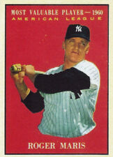 1961 Topps REPRINT #478 ROGER MARIS 1960 AL Most Valuable Player Baseball Card