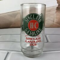 Sinclair H-C Gasoline Through The Years Advertising Tumbler Drinking Glass