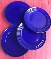 Set Of 4 Rachael Ray 11u201d Double Ridge Dinner Plates Blue  sc 1 st  eBay & Rachael Ray Ceramic Dinnerware Plates | eBay