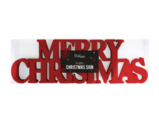 Merry Christmas Glitter Sign