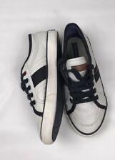 tommy hilfiger kids vintage white leather shoes SZ/3