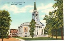 1940's The First Baptist Church in Knoxville, TN Tennessee PC