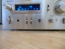 Pioneer SA-7800 Vintage Integrated Amplifier Blue Ser. Silver Analogue Indicator