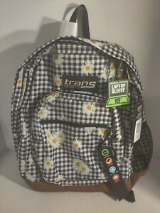 """Trans by JanSport 17"""" Super Cool Backpack - Daisy Mae"""