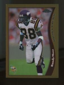 1998 Topps Chrome #35 Randy Moss RC Rookie