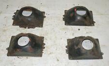 1982 Delorean DMC 12 OEM Set Of 4 Headlight Buckets - Right Left Inner Outer